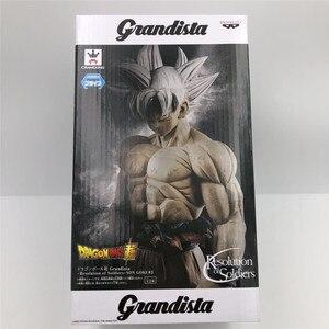 "Image 2 - ""Dragon Ball SUPER"" Original Banpresto Resolution of Soldiers Grandista ROSG Collection Figure   ULTRA INSTINCT SON GOKU Gogeta"