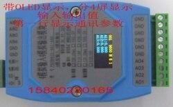 Analog Input and Output Analog Acquisition Analog Output 0-20mA 0-10V 4AI4AO