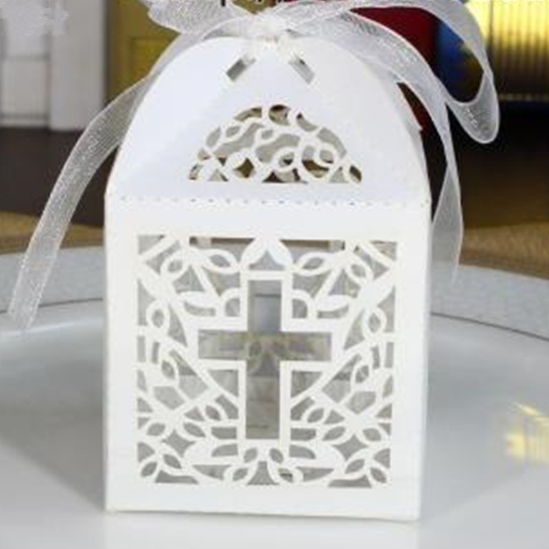 Crossing Candy Boxes Angel Gift Box For Baby Shower Baptism Birthday