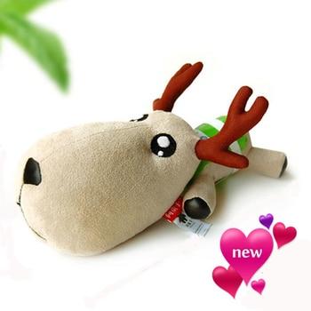 Nuevo muñeco de cervatillo ciervo desodorante de coche bolsa de carbón de bambú purifica el ambientador automático bolsas de carbón activado decoración interior Juguetes