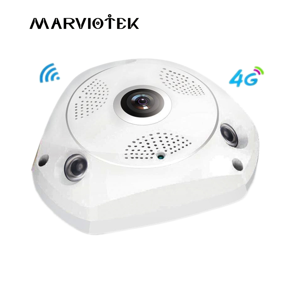 3G/4G LTE wireless IP Camera sim card 3MP 360 degree ip ptz camera alarm vr camera surveillance 960P camcorder with SD Card Slot