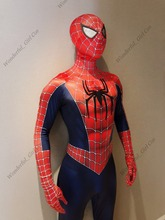 2017 New The Spider-Man Cosplay Costume Superhero Spiderman Zentai Fullbody Costumes Adult Halloween Costumes for Men/Women