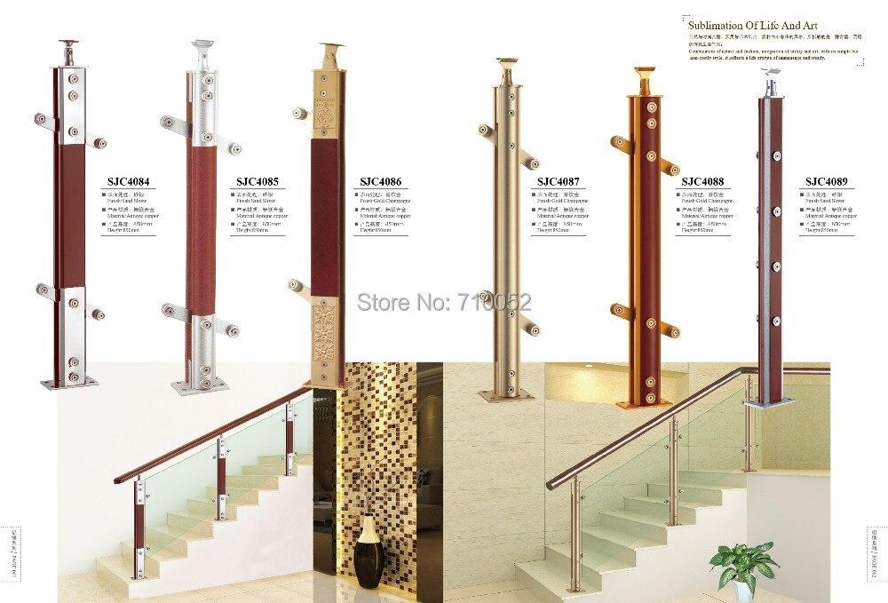 ФОТО freeshipping SJC4084 CustomizeAL-MG ALLOY stair armrest fence guardrail railing AL-MG ALLOY SERIES