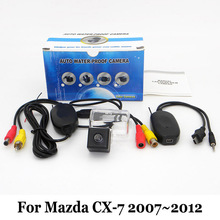 Car Parking Camera For Mazda CX-7 CX7 CX 7 2007~2012 / RCA AUX Wire Or Wireless / HD CCD Night Vision Auto Rear View Camera