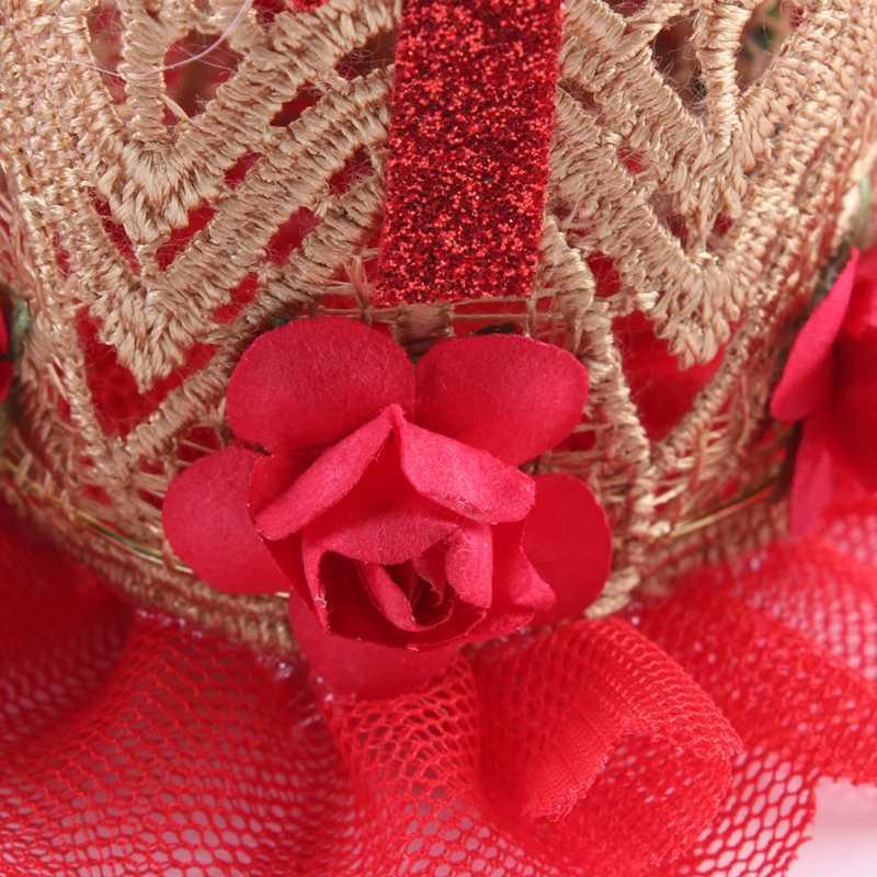 Cô gái Sinh Nhật Vương Miện Đảng Hairbands Phụ Kiện Bé Công Chúa Nữ Hoàng Ren Hoa Tiara Headbands Dễ Thương Trẻ Em Mũ Nón Đàn Hồi