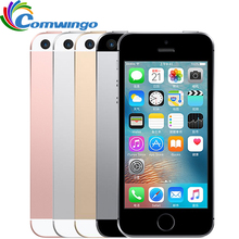 Original Unlocked Apple iPhone SE Cell Phone 2GB RAM 16/64GB ROM A9 Dual-core 4.0″ Touch ID 4G LTE Mobile Phone Used iphonese