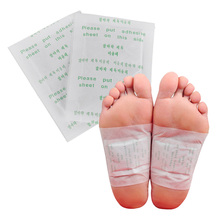 20pairs(40pcs) Feet Care Detox Foot Patch Improve Sleep Slimming Foot Patches Care Feet Pedicure Health Care Stickers