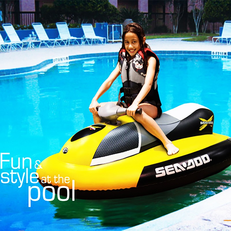 Free Shipping Inflatable Jet Ski With Electric Motor To