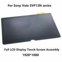 13,3 Полный ЖК дисплей Сенсорная установка преобразователя экрана для sony Vaio SVF13N17SCB SVF13N12STB SVF13N18SCB SVF13NA1UM SVF13N24CXB