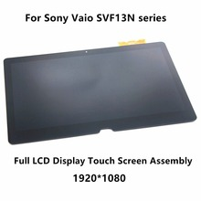 13.3″ Full LCD Display Touch Digitizer Screen Assembly For Sony Vaio SVF13N17SCB SVF13N12STB SVF13N18SCB SVF13NA1UM SVF13N24CXB