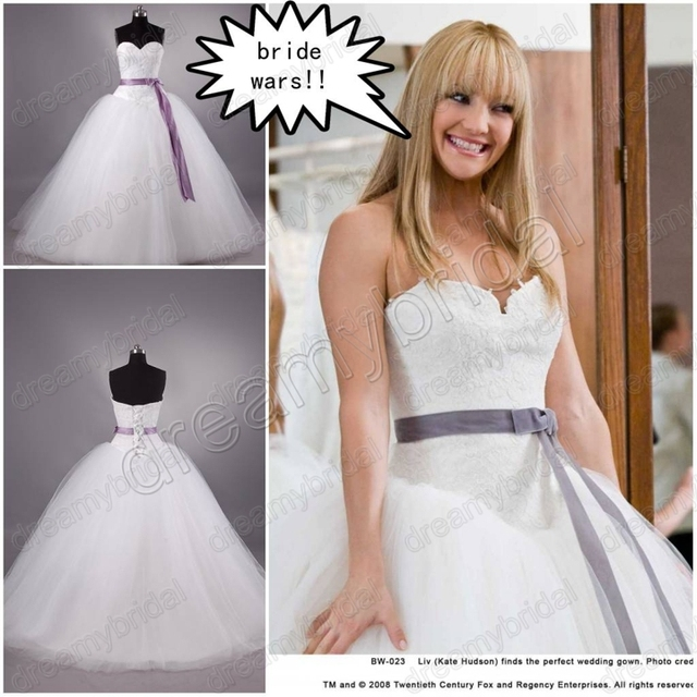 Dreamybridal 2013 New arrival Bride wars bridal dress100% real ...