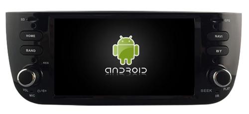 Navirider lecteur dvd de voiture multimédia wifi android8.1 gps écran de navigation pour Fiat Linea 2014-2015 Grande Punto EVO audio stéréo