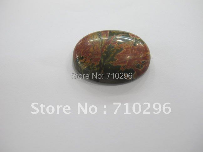 Red Picasso Jaspe r 15*20mm Oval Semi gem stone Loose Jewelry Cabochon