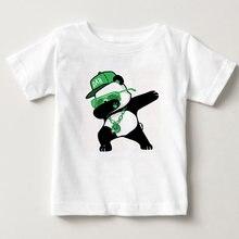 Детская вытирая со смешными героями из мультфильмов футболка
