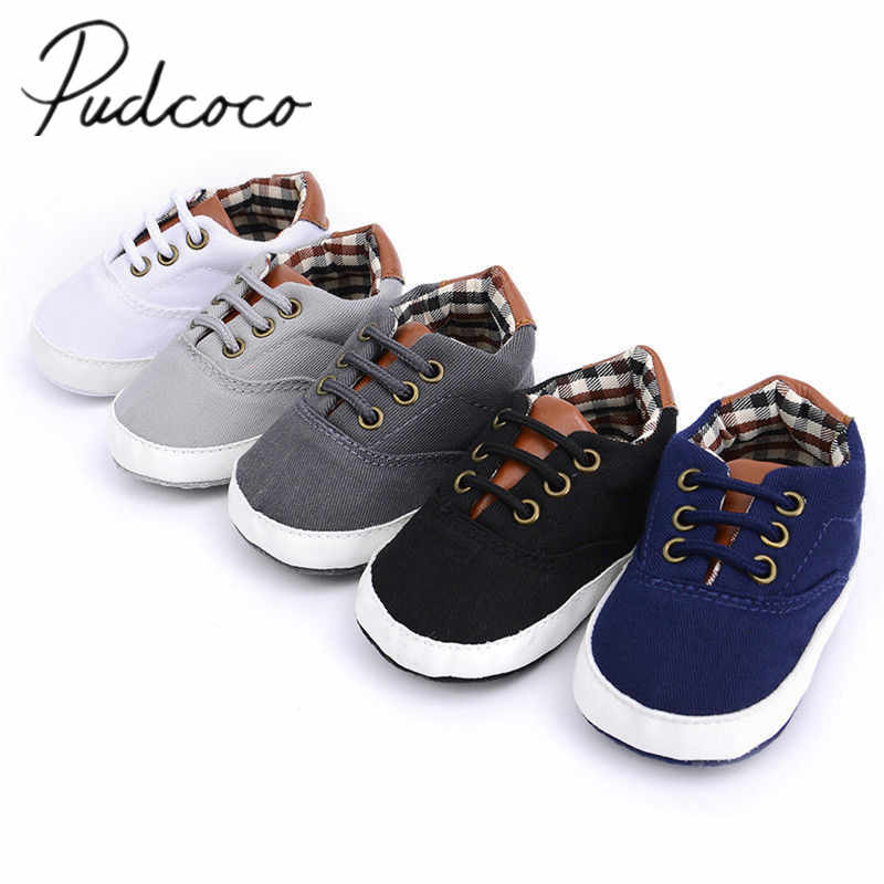 2019 Baby Summer Shoes Newborn Baby Girl Boys Causal Bow Anti-slip Shoes Plaid Patchwork Soft Sole Sneakers Prewalker 0-18M