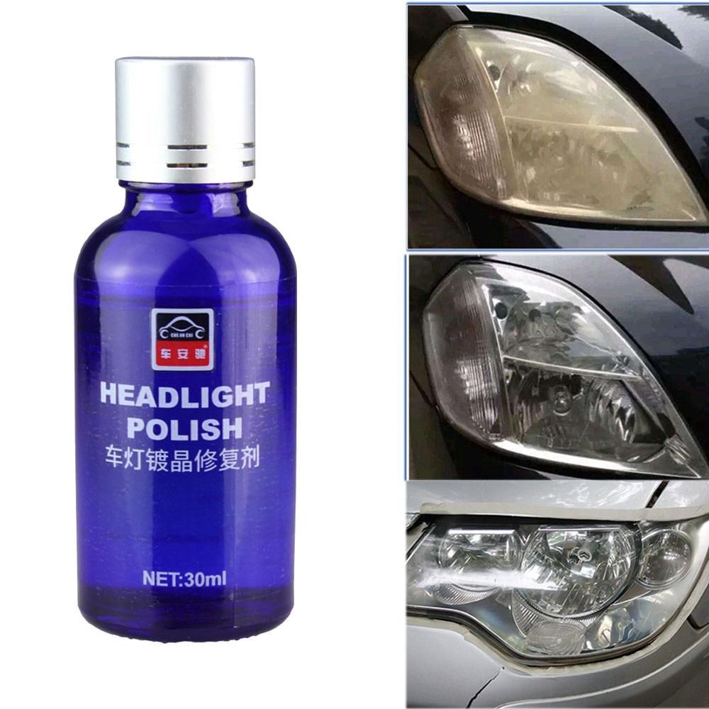 Car Headlight Glass Cleaner