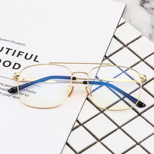 Vintage Oversized Square Eyeglasses Women Retro Clear Optical Glasses Frame Men Myopia Prescription Spectacles Frames Eyewear