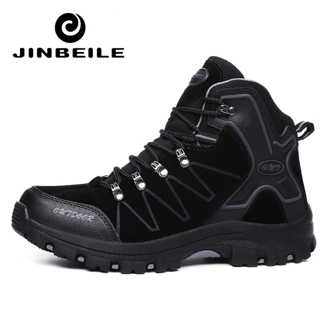 Men's Waterproof Hiking Shoes Trekking Hunting Shoes Comfortable Trend Sneakers for Male Mountain Climbing Shoe Plus Size 45