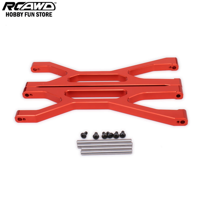 1/6 1/5 Traxxas X-MAXX Suspension Arm Front Rear Upper A Arm Left Right For Rc Car Brushless Electric Monster Truck 7729 6061-T6 fid metal rear upper suspension arm for lt 5t 1 set crazy off road weapon