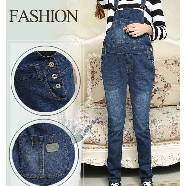 d70438c34 Denim Jeans maternidad pantalones de pantalón para las mujeres embarazadas  ropa Plus Tamaño del vientre Legging