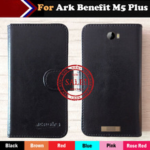 Hot!! Ark Benefit M5 Plus Case Factory Price 6 Colors Luxury Dedicated Flip Leather Exclusive Credit Card Cover Phone +Tracking phone case wood leather card metal glass plastic printing uv ink with factory price