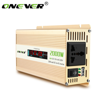 Car Power Inverter with Digital Display