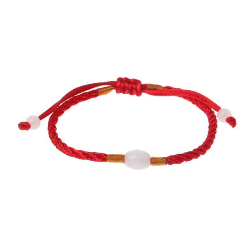 Lucky red string bracelet Kabbalah Amulet 7 Knots Protection Rope man or women