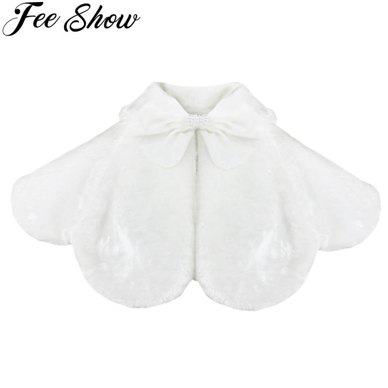 2-8Year Kids Girls Long Sleeves Clothing Bolero Jacket Shrug Short Cardigan Sweater Dress Weeding Outerwear Party Coats Cover Up