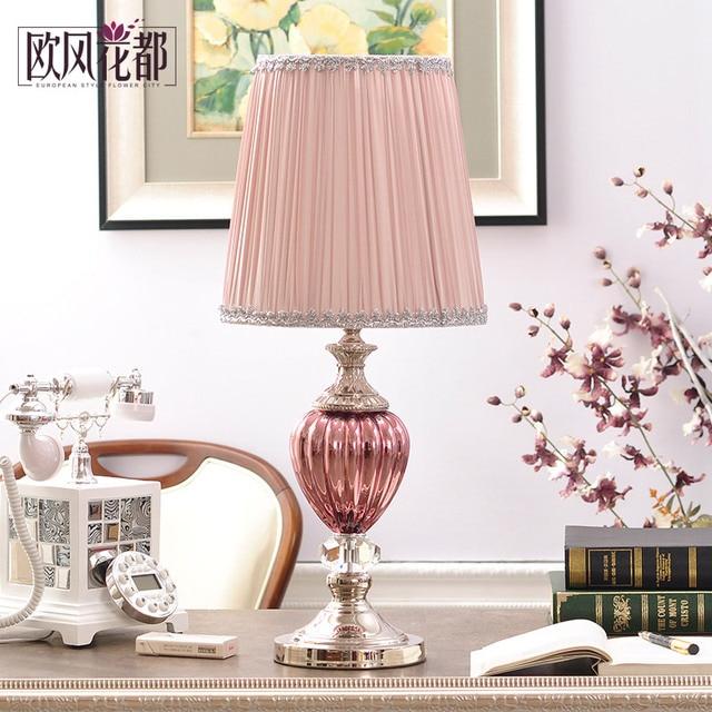 Aliexpress.com : Buy European luxury crystal lamp simple living room ...