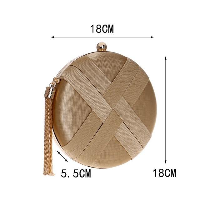 SEKUSA Fashion Women Bag Tassel Metal Small Day Clutch Purse Handbags Chain Shoulder Lady Evening Bags Phone Key Pocket Bags 1