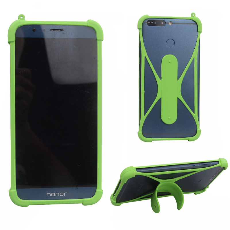 For Xgody D24 Case Universal Silicon Mobile Phone Soft Bumper Skin Case For  Xgody D24 pro on hand