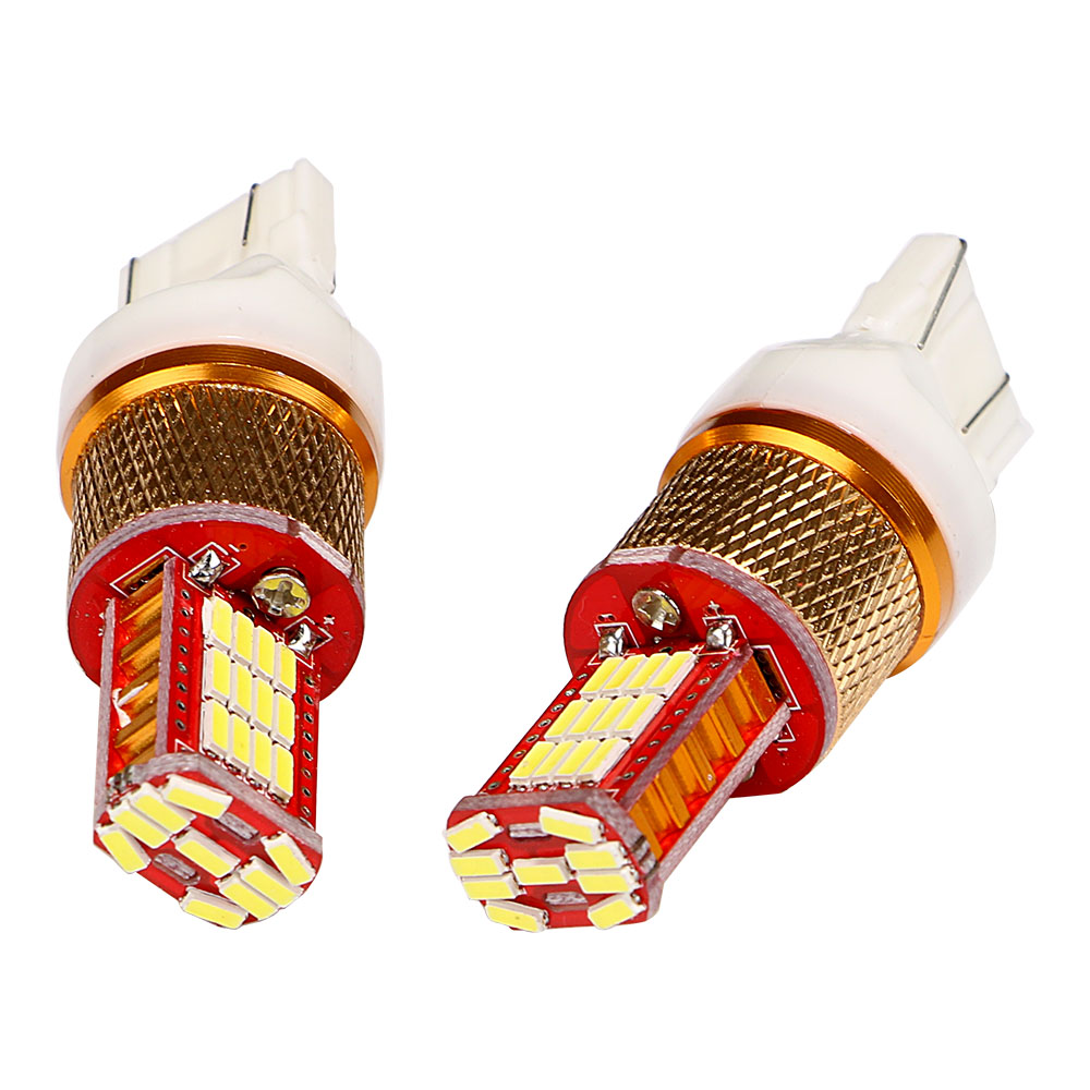 2Pcs/Set Universal T20 LED Car Brake Light DC 12V Auto Accessories Car-styling Car Turn Signal Lights 4014 33SMD Light Source universal pu leather car seat covers for toyota corolla camry rav4 auris prius yalis avensis suv auto accessories car sticks