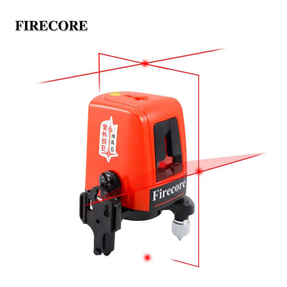 FIRECORE A8827D Red Laser Level 3 Lines 3 Point Horizontal And Vertical Red Beam Laser Line
