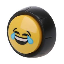 Hot Sale Novelty Big Laugh Button Sound Desktop Toy Baby Great For Parents Co-Workers Gag Joke