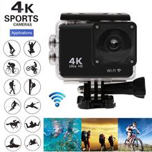 2 0 #8243 170° Sports Cameras Action Camera Ultra HD 4K 25fps WiFi Underwater Waterproof Helmet Video Recording Cameras Sport Cam cheap BuyinCoins OmniVision Series SPCA6350M (1080P 60FPS) About 5MP 900MAH 1 2 8 inches Outdoor Sport Activities No Image Stabilization