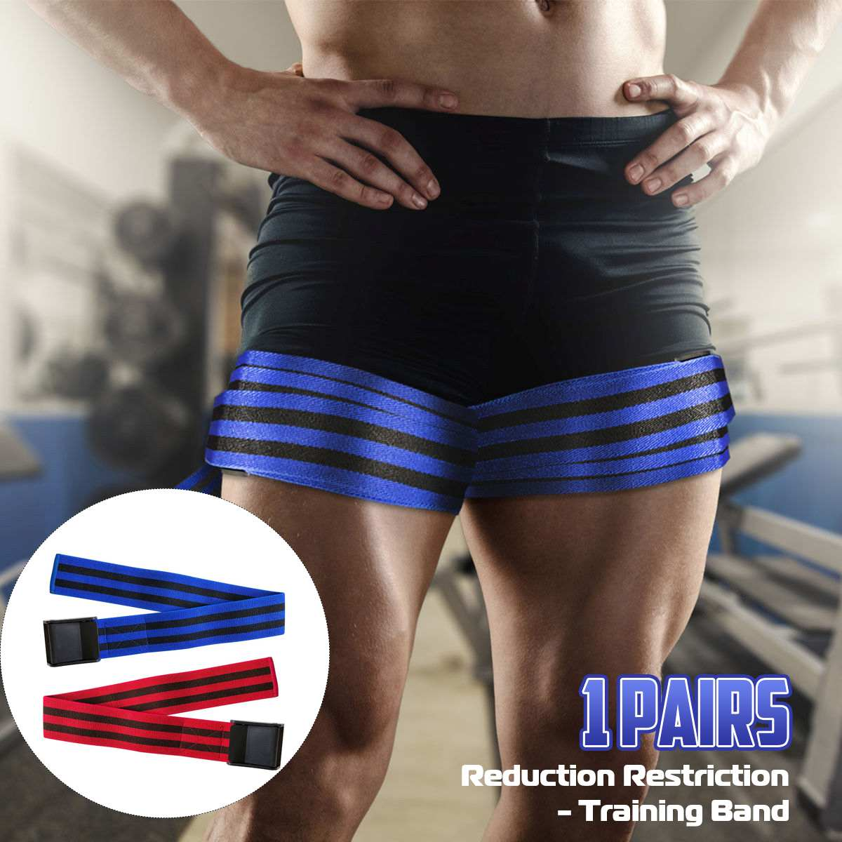 Fitness Occlusion Training Bands Blood Flow Blocking Training Equipment For Gym With Arm Or Leg Traps Weightlifting Exercise