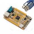 STM32F407VGT6 STM32F407VG DM9000CEP bordo aprendizagem placa de desenvolvimento de rede rede de volta Dois serial RS232