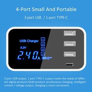 Image 4 - HKHUIBANG зарядка для телефона переходник usb type c зарядное устройство для телефона зарядка для айфона Самсунг EU US переходник для зарядки зарядное устройство зарядка для телефонов зарядное устройство для телефона
