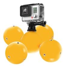 5Pcs/Set Waterproof Cameras Floating Ball Grip With Wristband Diving Float Balls For GoPro Hero 5/4/3 SJCAM Xiaomi Yi GDeals