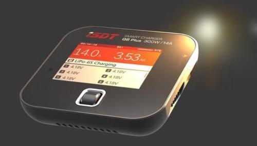 Nouveau chargeur d'équilibre de batterie de poche ISDT Q6 Plus 300 W 14A MINI pour pièces de course RC