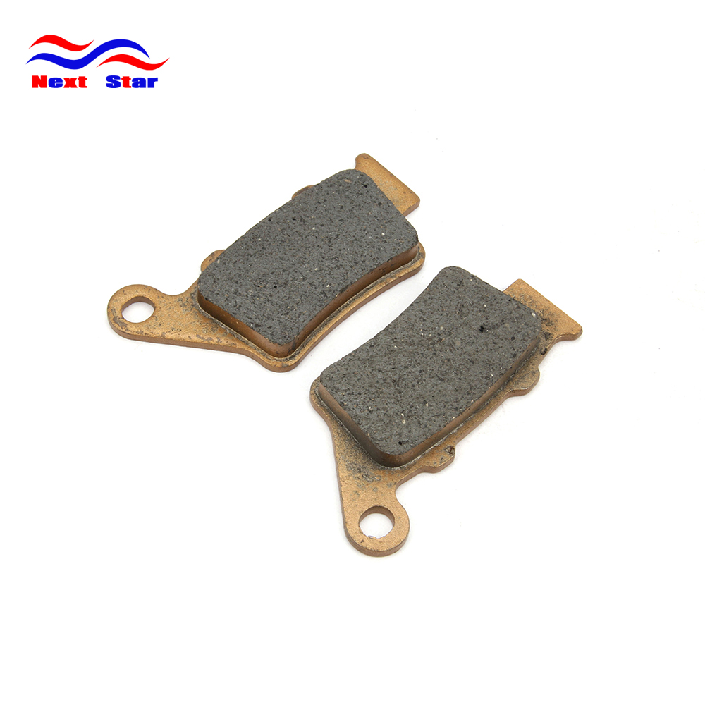Motorcycle Rear Caliper Brake Pads For YAMAHA WR125X WR125R 09-15 WR250 08-10 YP250R 14 15 XT660 04-15 MT-03 <font><b>660cc</b></font> X-MAX 250 15 image