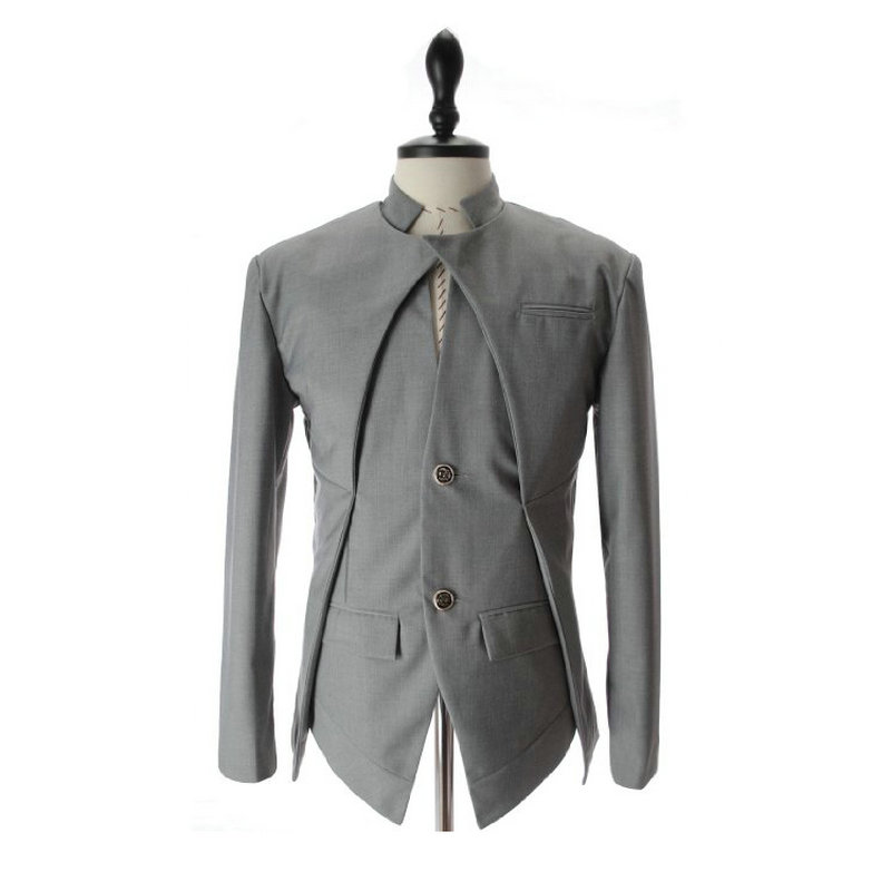 Blazers la Maxpa New Arrival Casual Slim Stylish Fit One Button Suit Men Blazer Coat Jackets Male Fashion Dress Clothing Plus Size Activating Blood Circulation And Strengthening Sinews And Bones