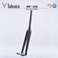 Superlight 700C carbon road fork disc brake carbon fiber Bike fork 1 1/2 tapered road bicycle carbon Front Fork 15mm