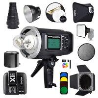 Godox AD600BM 600Ws GN87 Photo Flash Strobe Studio Bowens Mount HSS 1/8000 Outdoor+X1T N Wireless Trigger for Nikon