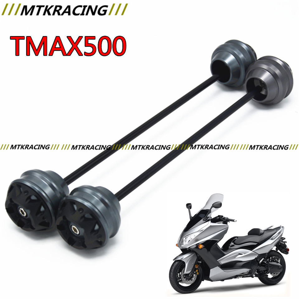 MTKRACING Free delivery for YAMAHA TMAX 500 2008-2011  CNC Modified Motorcycle Front and Rear wheel drop ball / shock absorber free delivery for ducati monster s4r 2003 2008 cnc modified motorcycle drop ball shock absorber
