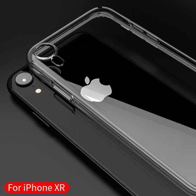 Case For iPhone X XS Max 5 SE 5S 6 6S 7 8 Plus Clear TPU For iPhone XR Cases  Silicone Protective Sleeve Transparent Soft Case 0f33fdc6864