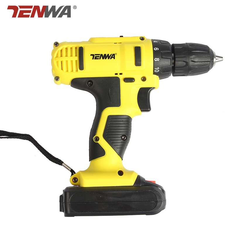 Tenwa 21V Electric Screwdriver Drill Power Tools Lithium Parafusadeira Handheld Cordless 32NM Electric Screwdriver Set handheld electrical drill charger electric grinder mini electric screwdriver power tools with power wire and screwdriver set