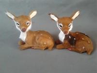 Small Cute Simulaiton Deer Toy Polyethylene Furs Deer Model Gift About 12cmx8cmx13cm