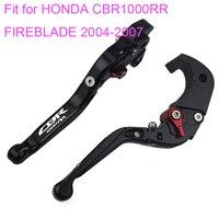 KODASKIN Folding Extendable Brake Clutch Levers for HONDA CBR1000RR FIREBLADE 2004 2007