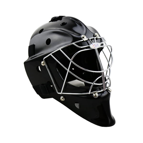 CE Approved full face field hockey goalie helmet , floorball mask goalie mask hockey goalie helmet for goalikeeper free shipping